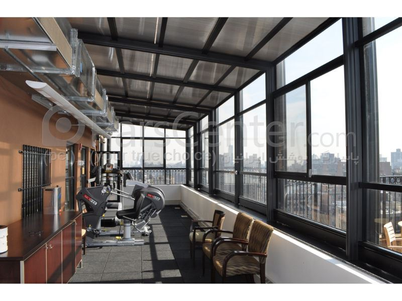 سیتم پوشش بالکن و تراس متحرک Balcony and terrace 23