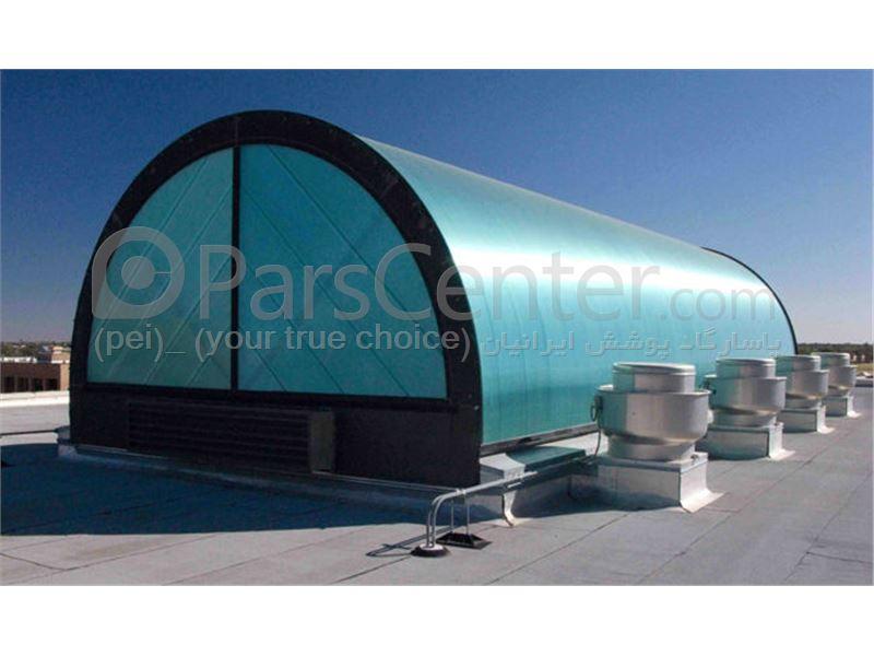 Roof Nvrgyr _ نورگیر تونلی سقف  مجتمع های تجاری و پاساژ 109