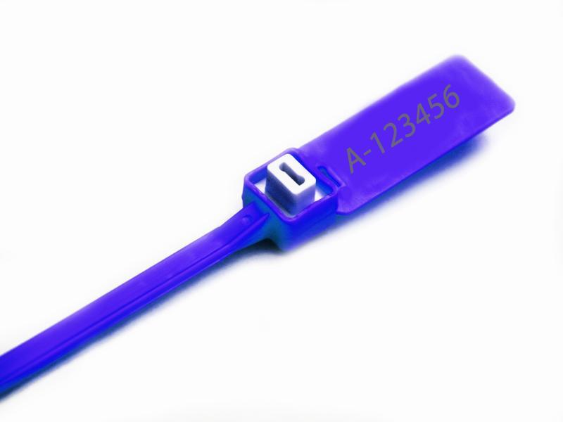 پلمپ تسمه ای پلاستیکی پهن با قفل فلزی-شرکت ایمن کاران