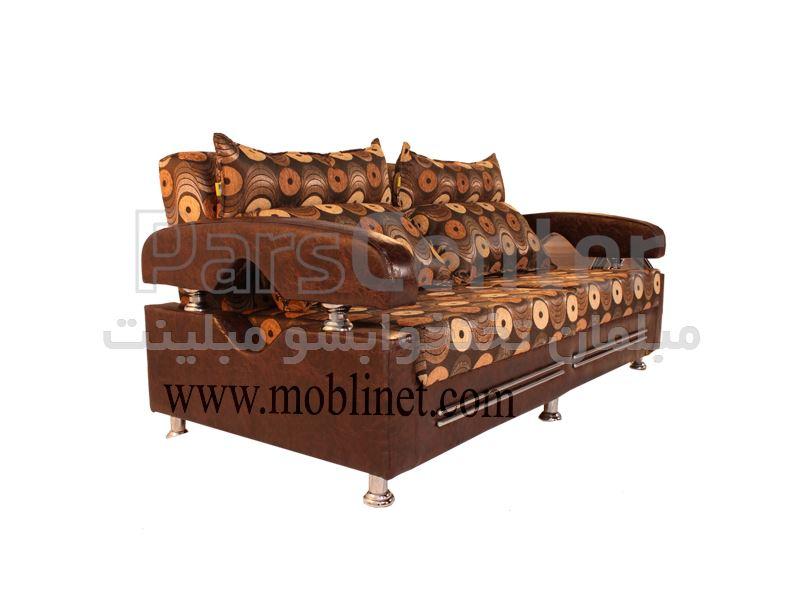 کاناپه تختخواب شو دوقلو عرض تشک 160 مدل دیوا