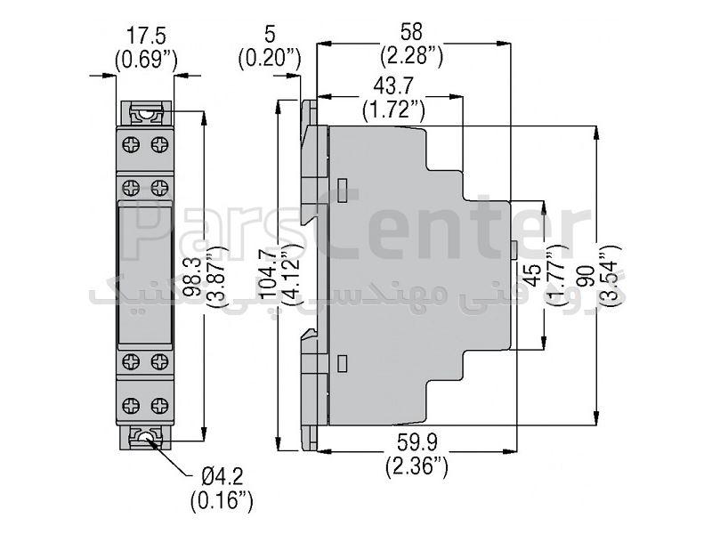تایمر فیندر کتابی  مدل 80.01 80.01.0.240.000