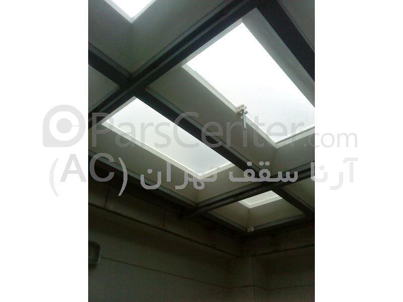 پوشش سقف پاسیو با متریال حبابی (قلهک)