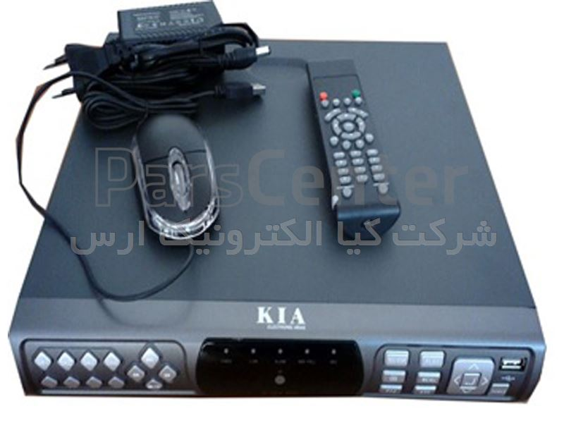 DVR 2504HS20 با قابلیت تنظیم ضبط در هنگام حرکت