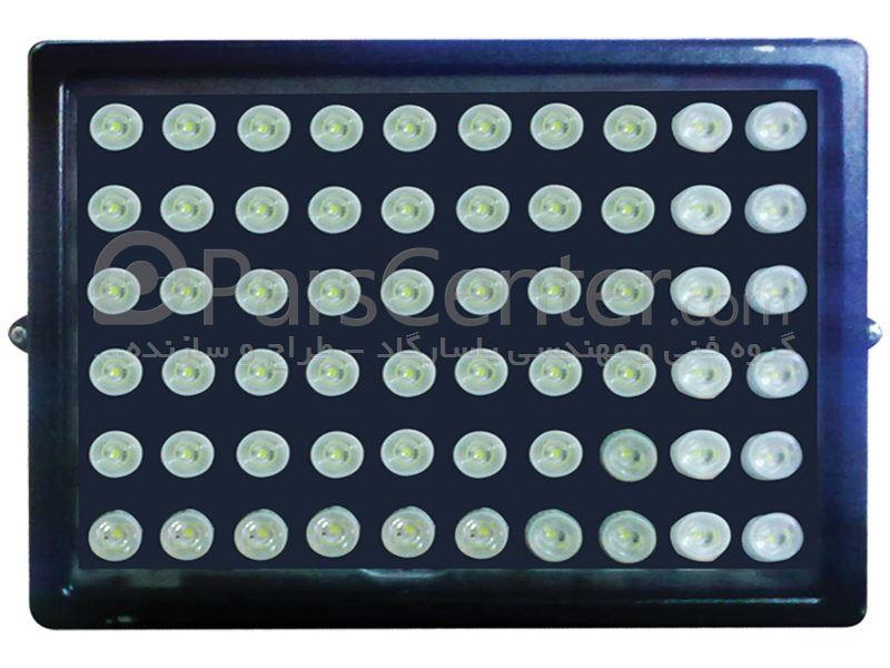 چراغ خیابانی LED - مدل نورا - 60 وات پاور