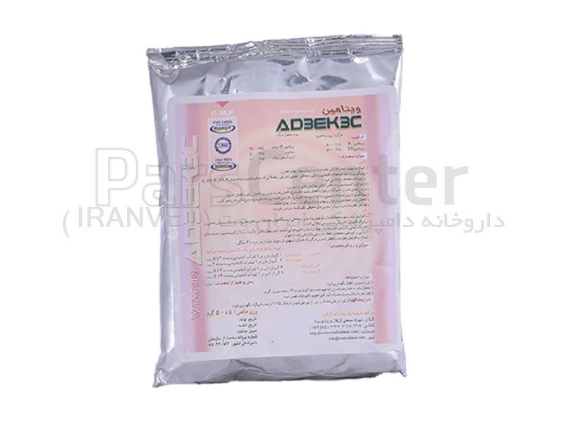 ویتامین AD3EK3C رشد دانه گرگان