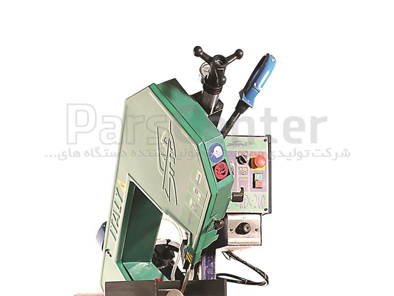 دستگاه اره نواری فولادبر ۲۶۰ نیمه اتوماتیک