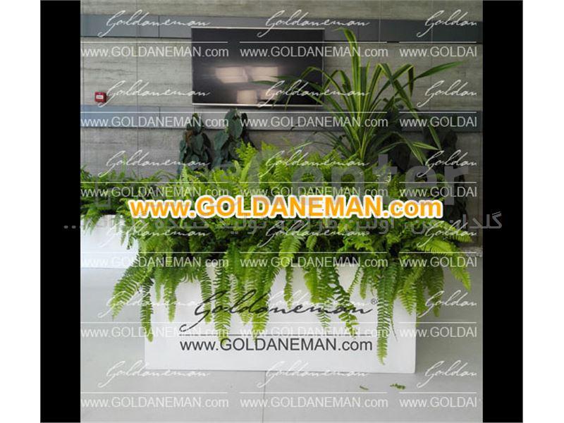 گلدان مستطیل افقی/ کد 2-Ep7