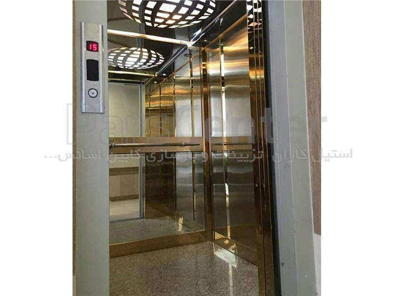 اجرای تزئینات داخلی کابین آسانسور