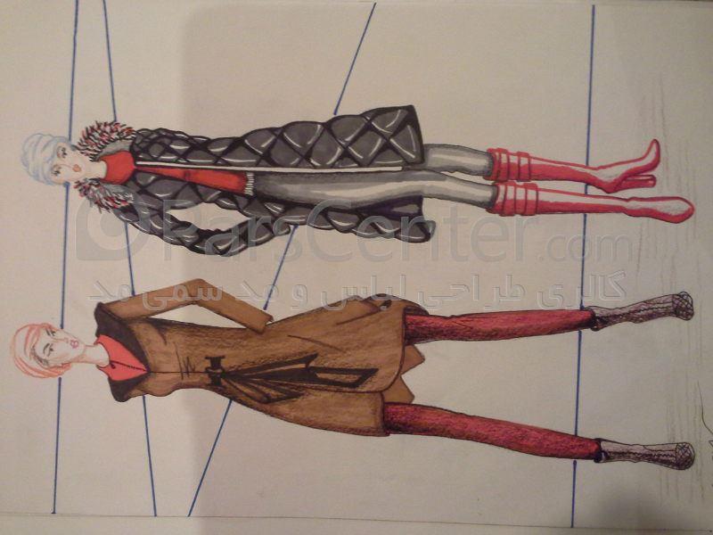 مزون مانتو اصفهان طراحی مد و لباس - خدمات خدمات طراحی لباس در پارس سنتر