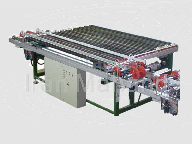 Dryer loading and unloading machine