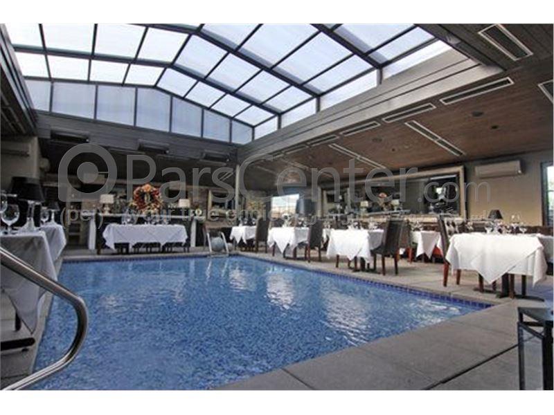 سازه فضایی | سقف متحرک - سازه فضایی... سیستم پوشش سقف متحرک رستوران - محصولات سازه های پیش ساخته در پارس  سنترسیستم پوشش سقف ...