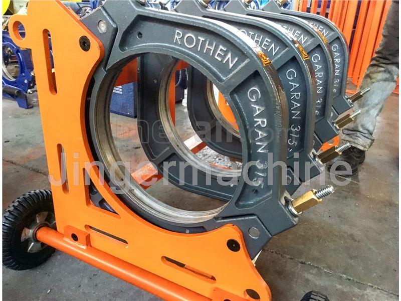 Full-hydraulic PE welding 315