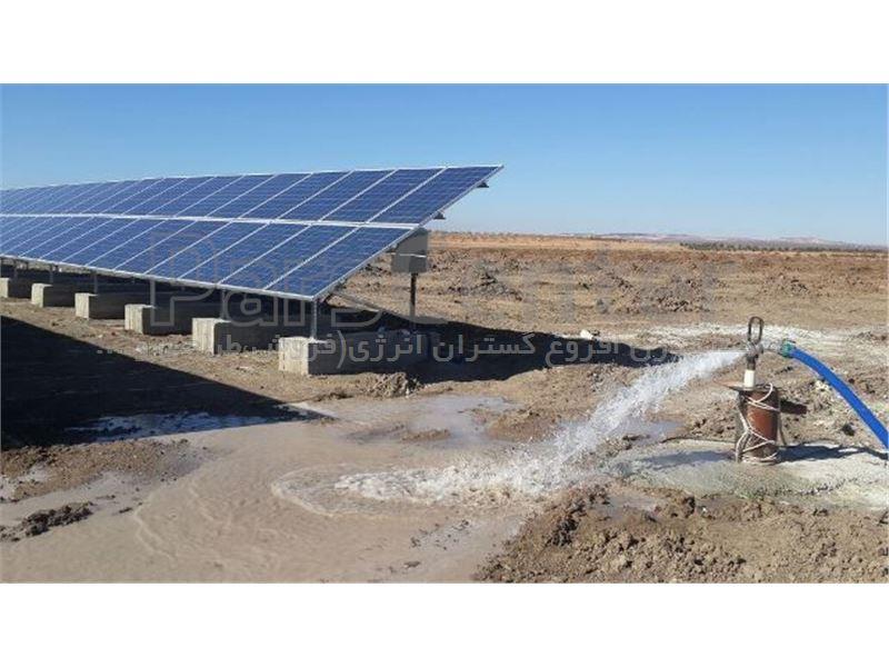 پمپ خورشیدی 174 متری روزکار