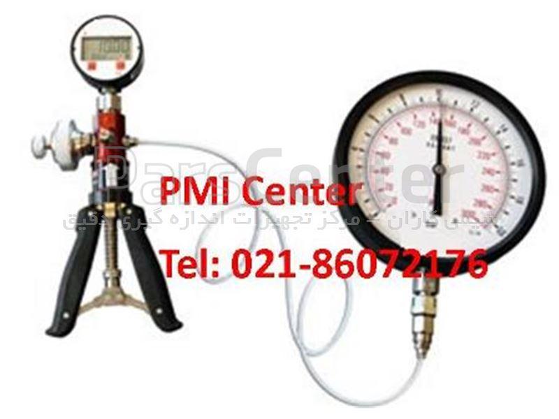 هند پمپ فشار (پمپ دستی فشار) کالیبراسیون گیج  فشار  پنوماتیک 40 بار Pressure Hand Pump
