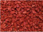 سنگ رنگی قرمز فسفری
