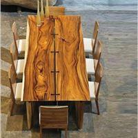 میز چوب طبیعی ، فانتزی