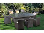مبلمان باغی  8 نفره حصیری سرینو