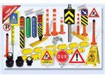 قالب پلاستیک علایم و قطعات و تجهیزات کنترل ترافیک و راهنمایی