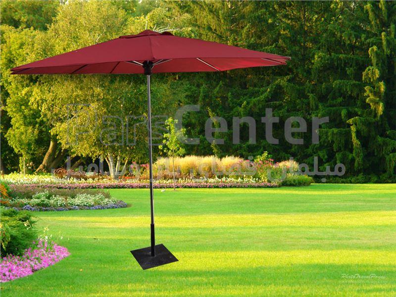 چتر و سایه بان پایه وسط 3 متری