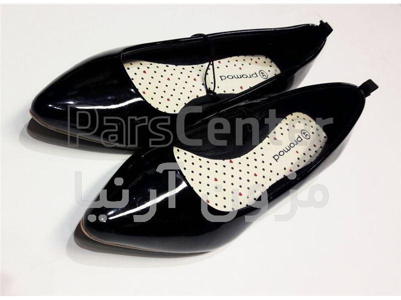کفش ورنی برند Promod ایتالیا مدل 1304
