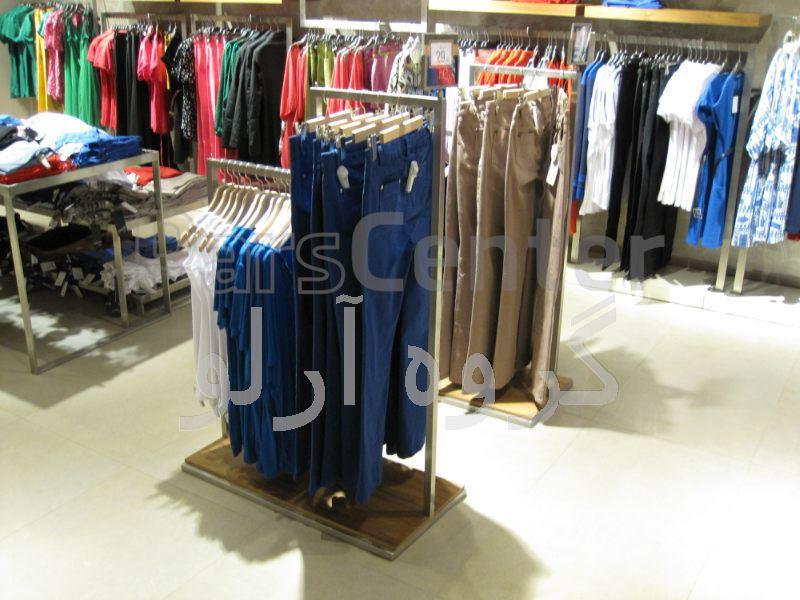 قفسه پوشاک،رگال لباس-قفسه بندی بوتیک 7