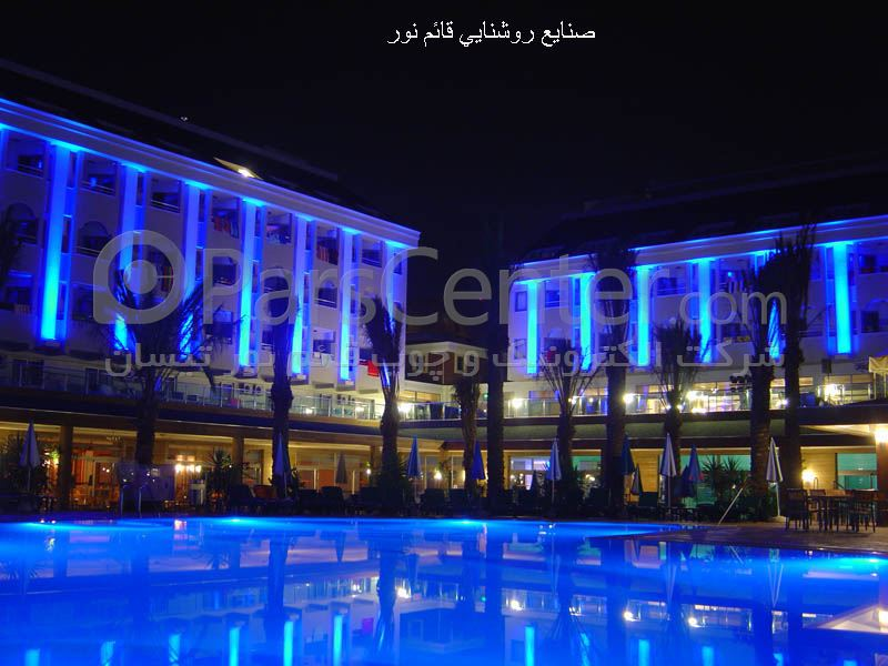 اجرای نورپردازی نماهای داخلی وخارجی و فروش چراغ هایled در ایران