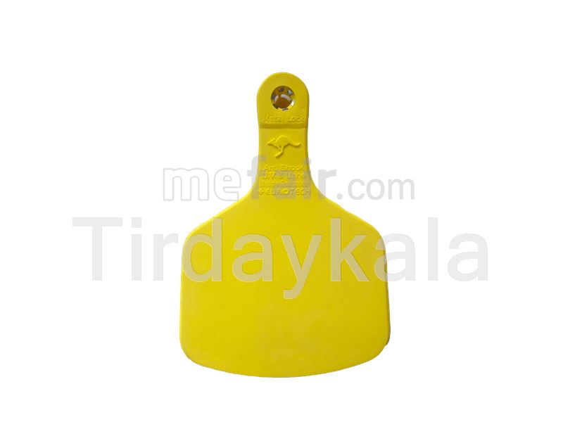 Visual tamper proof cow ear tag