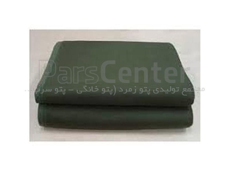 پتو سربازی نمدی سبز زیتونی زمرد 1800 گرم زمرد