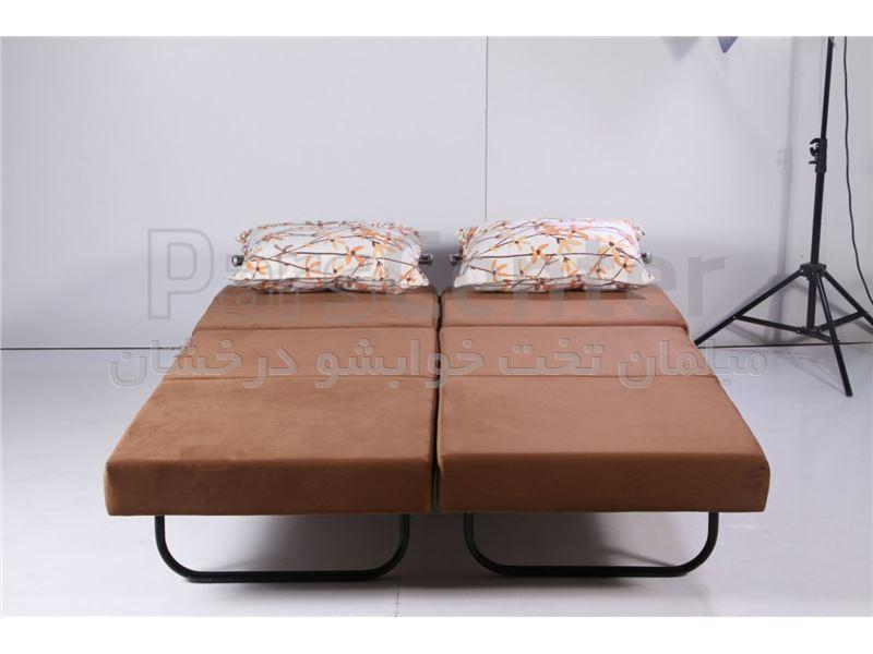 مبل تخت خوابشو دوقلو سه نفر نشیمن دو نفر خواب بارون