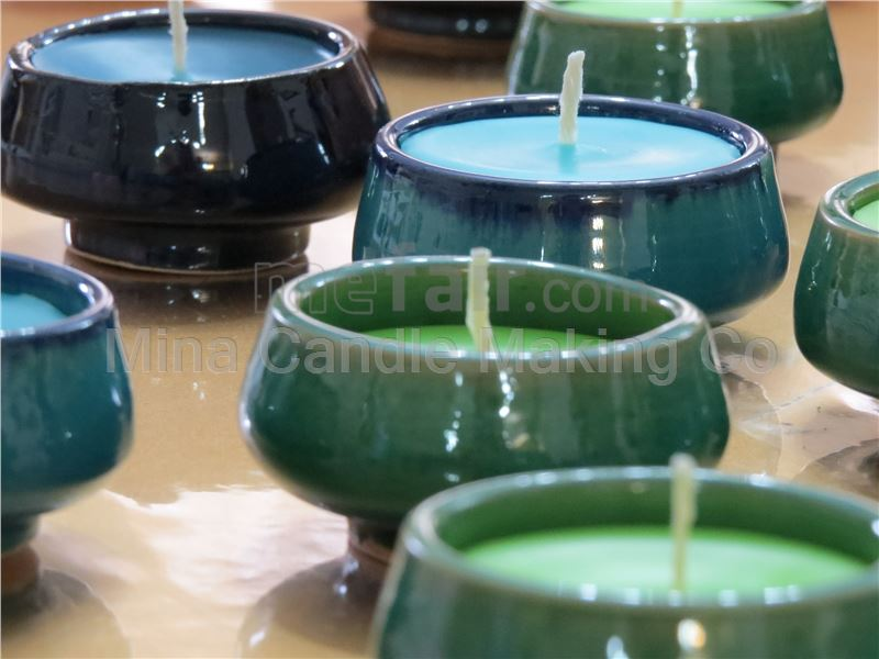 Clayware Candle