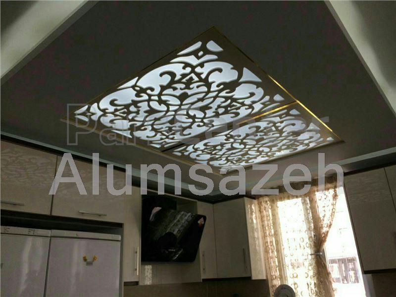 فروش سقف کاذب معرق چوبی