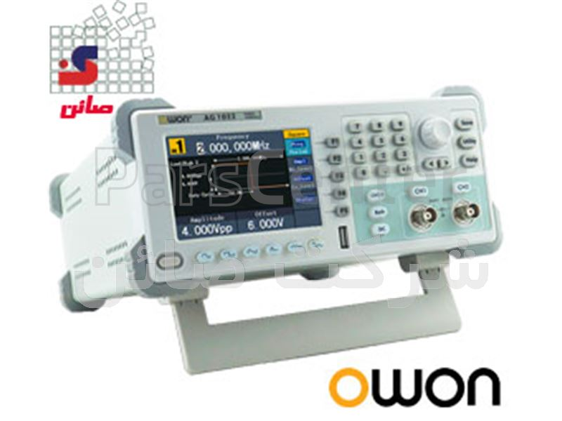 سوئیپ فانکشن ژنراتور 150 مگاهرتز(سیگنال ژنراتور)  مدل  AG-4151ساخت کمپانی  OWON هنگ کنگ