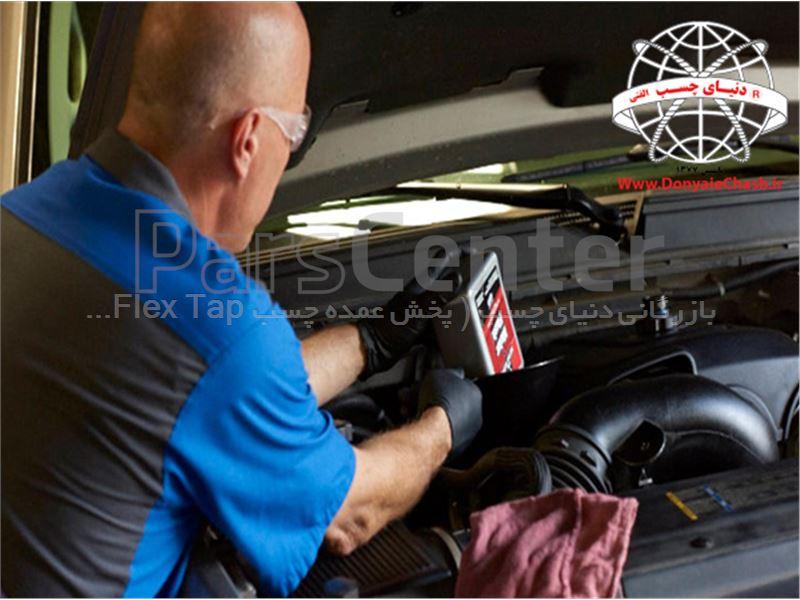 مکمل مایع موتور شور داخل گانک GUNK Motor Flush آمریکا