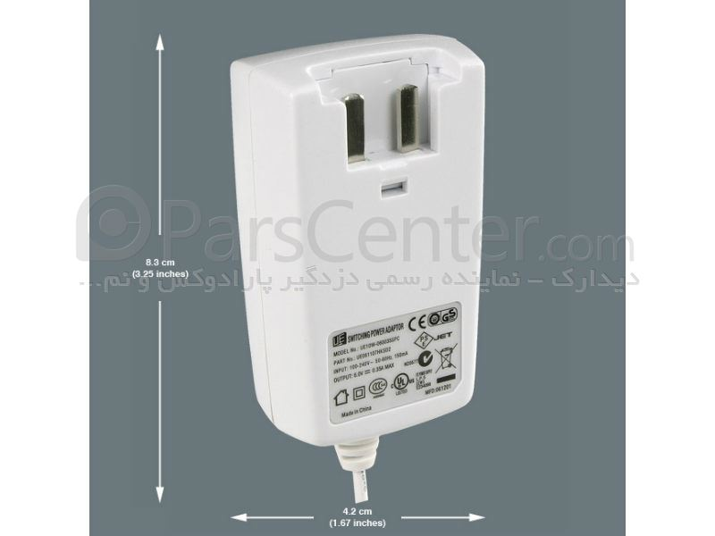 آداپتور دزدگیر پارادوکس Paradox Power Adapter PA6