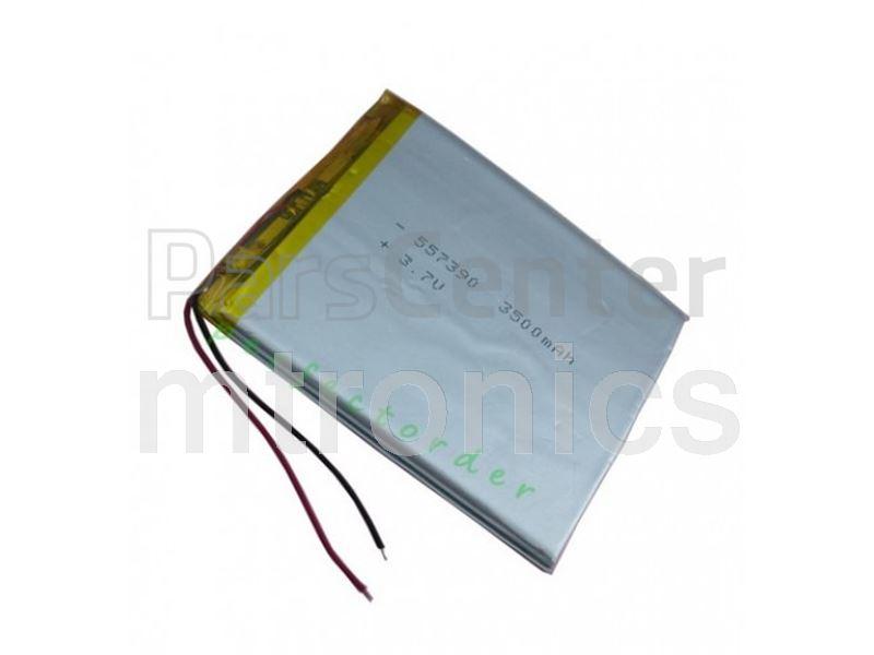 باطری لیتیومی قابل شارژ 3.7v-3800mAH