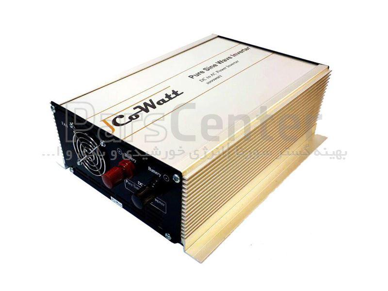 اینورتر خورشیدی ایرانی(مبدل 48 به 220 سولار) 6000 وات سینوسی خالص (مبدل برق باتری به شهر)  برند jcowatt