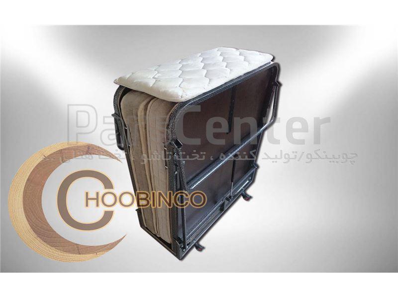 تخت تاشو همراه چوبینکو - هتلی مدل E11