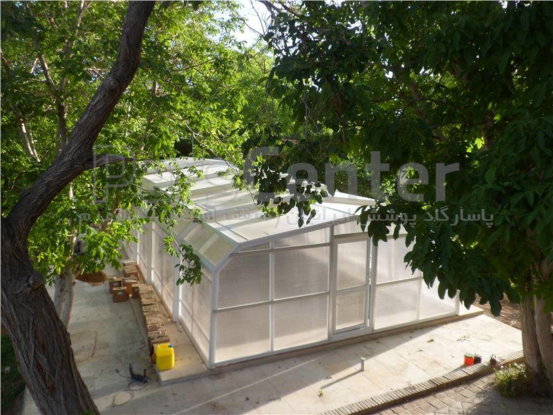 سقف متحرک  استخر شناء - شهر رضا - اصفهان