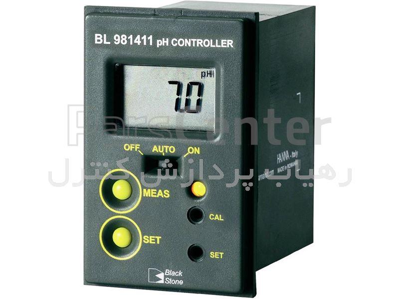 کنترلر پی اچ متر (پی اچ متر آنلاین) هانا  مدل Bl981411 Hanna