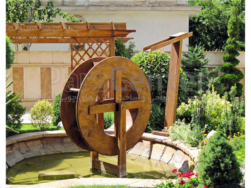 طراحی و ساخت چرخ آسیاب جوبی