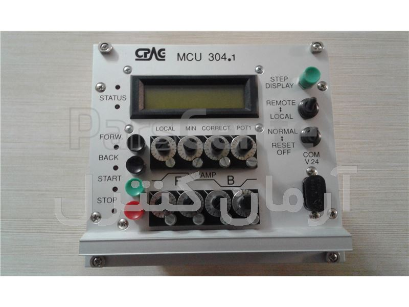 کنترلر سرعت حرکت جک هیدرولیک CPAG-MCU 304.1
