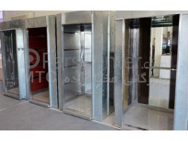کابین آسانسور  تمام استیل طرحدار