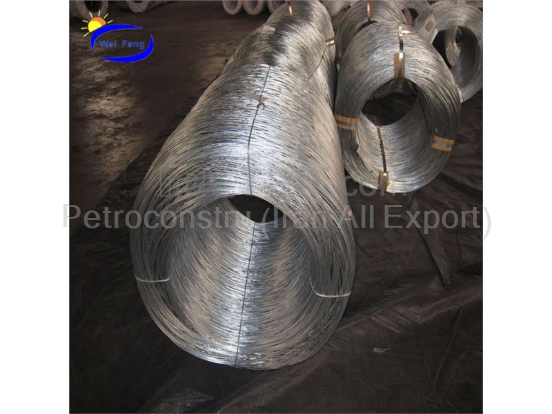 Exporting Galvanized wire rod 2.5mm from Iran to Iraq and Qatar