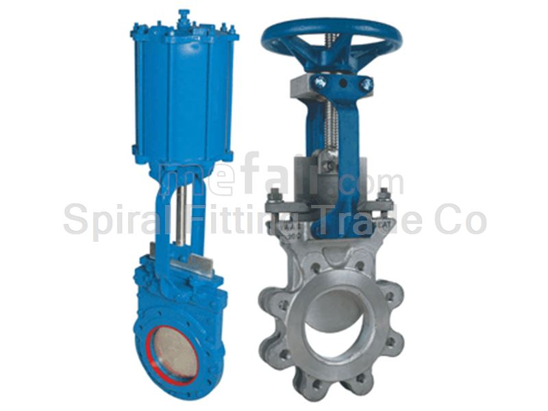 Spiral Fitting Knife Gate Valves