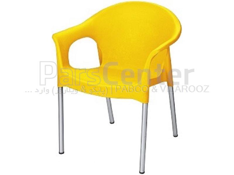 صندلی پلاستیکی پایه فلزی سولو