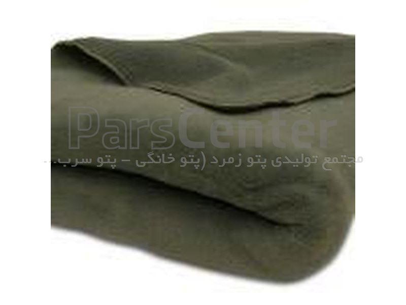 پتو سربازی نمدی سبز زیتونی زمرد 2200 گرمی زمرد