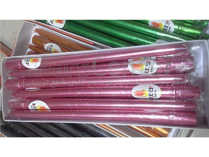 شمع قلمی 20 سانت اکلیل