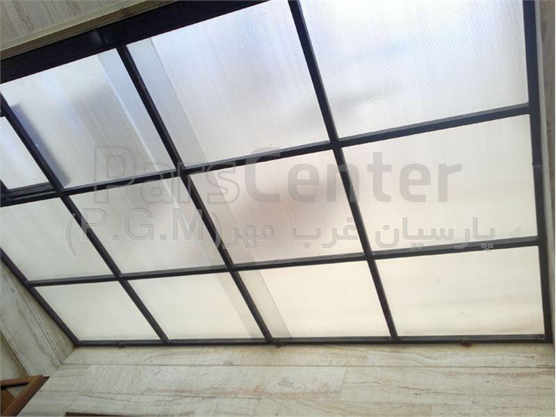 سقف پاسیو همراه با تعبیه دریچه ( پاسداران )