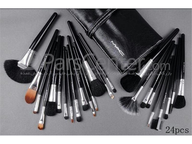 ست قلم موی آرایشی 24 عددی مک MAC