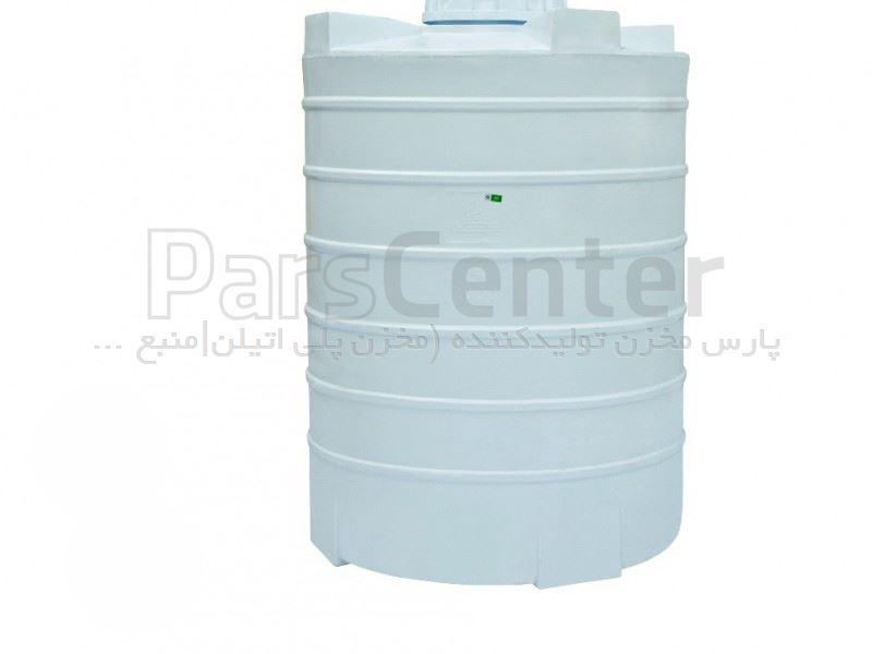 مخزن آب پلی اتیلن سه لایه عمودی 700 لیتری